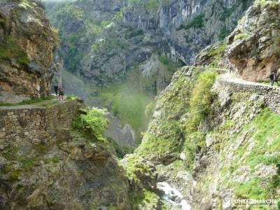 Ruta Cares-Picos de Europa; hacer amigos madrid sierra noroeste costa de vizcaya rutas grazalema